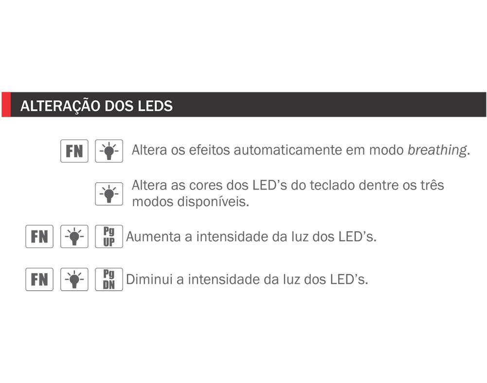Teclado Gamer K-Mex SteamPunk LED Teclas Iluminadas Anti Ghosting KM76 - KM7628U0001CB1X
