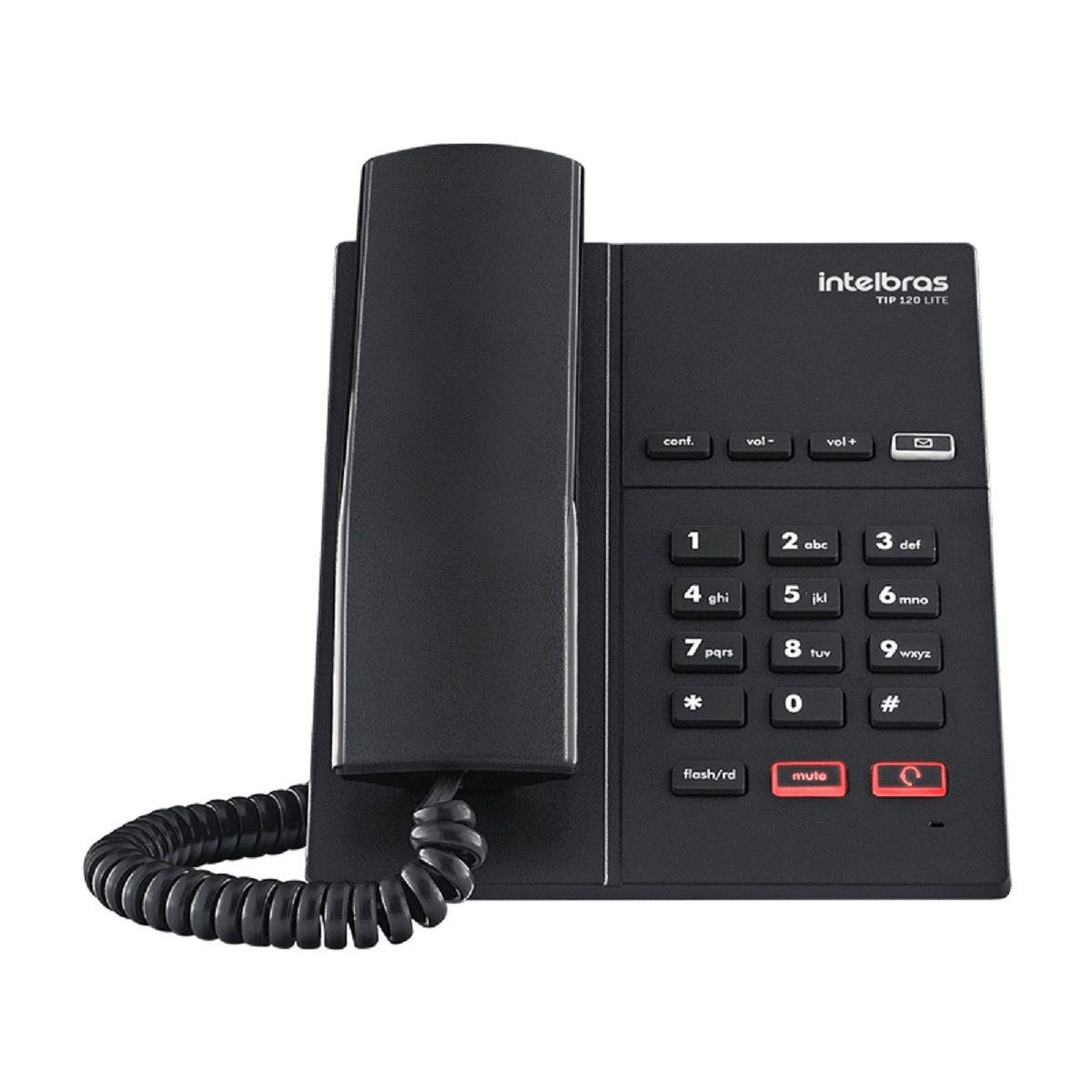 Telefone Tip 120 Lite Intelbras
