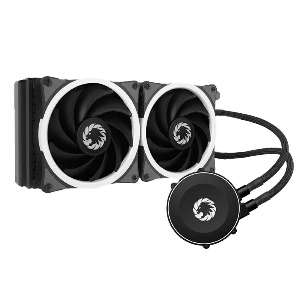 Water Cooler Gamemax Iceberg 240 Rainbow Liquid Cooler