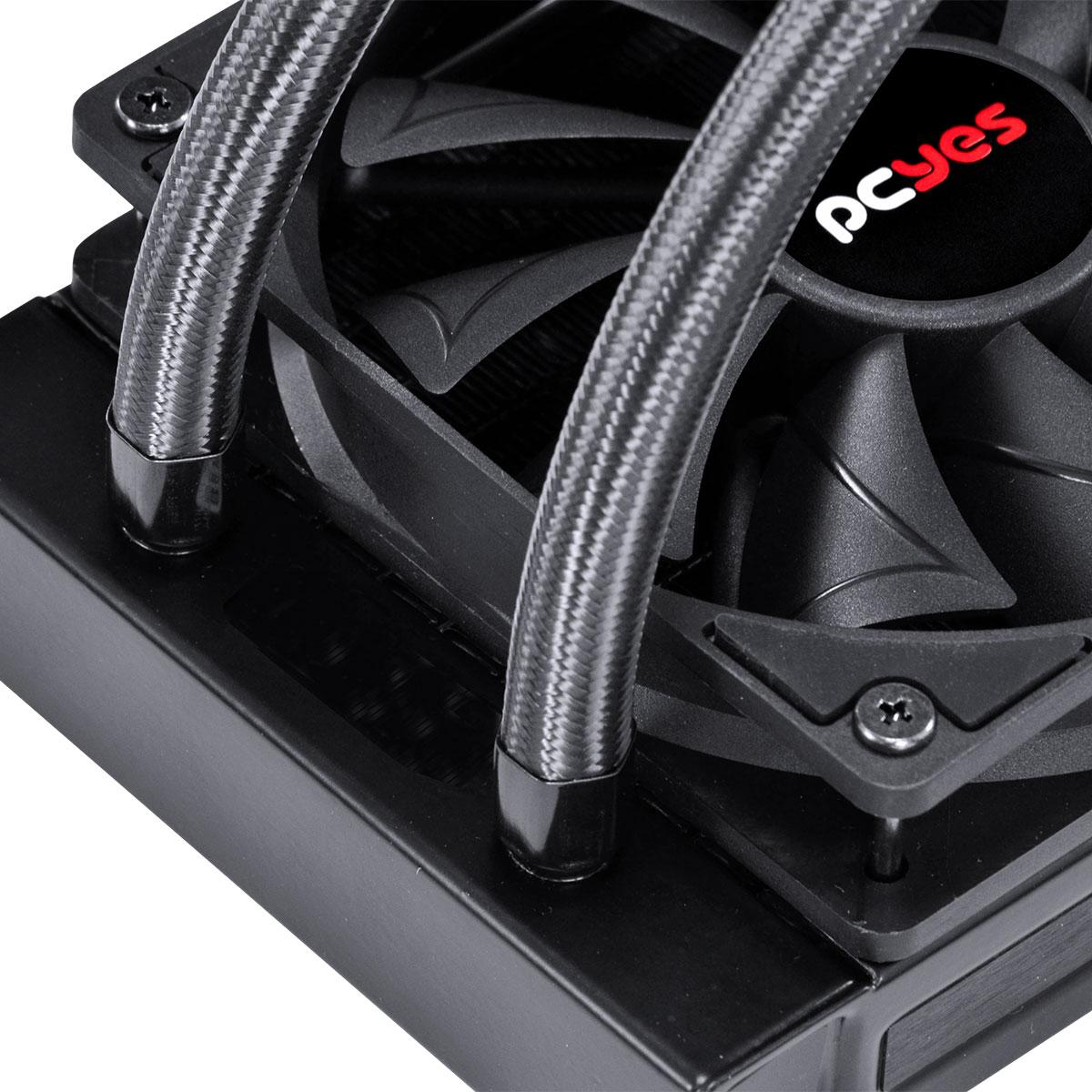 Water Cooler Sangue Frio 2, 360mm (Intel/AMD), Mangueiras de Nylon, TDP 350w - PSF2360H60PTSL
