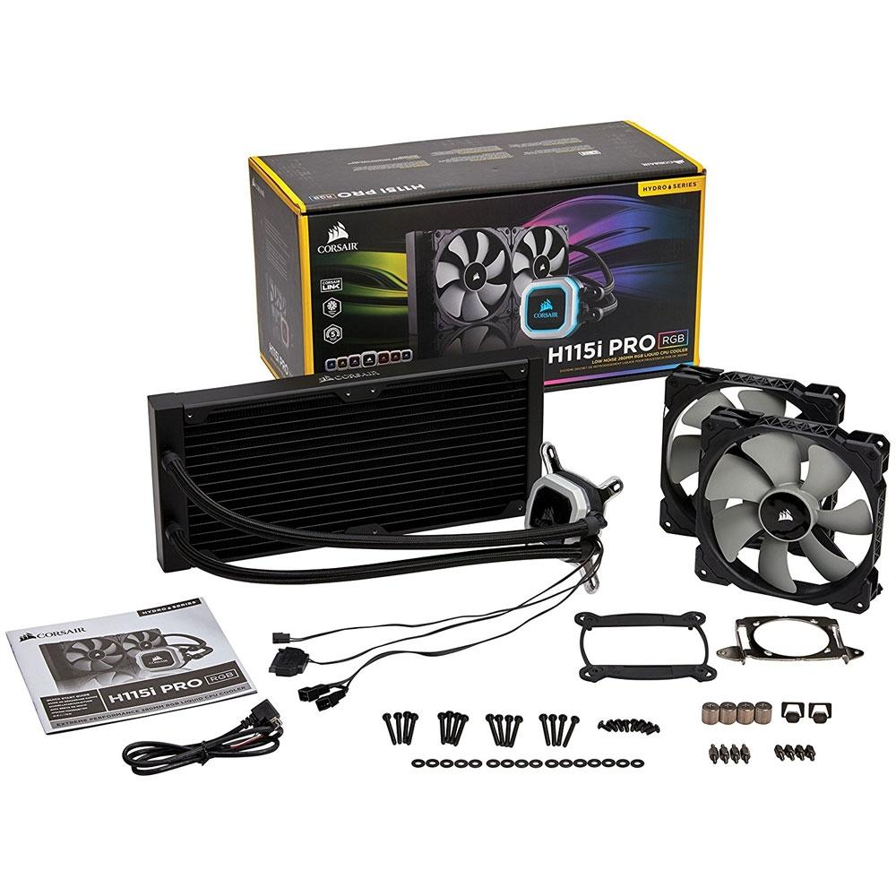 Water Cooler Corsair H115i PRO RGB Hydro Series CW-9060032-WW