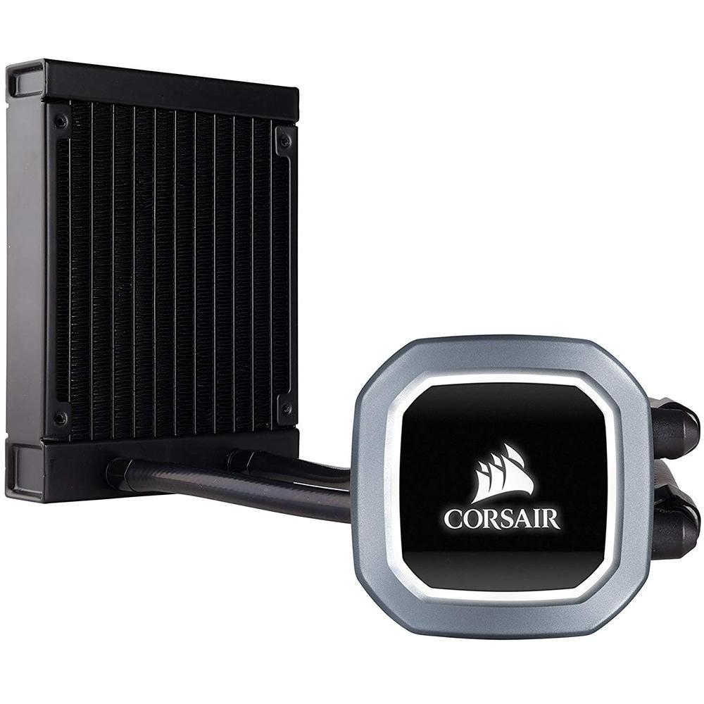 Water Cooler Corsair H60 Hydro Series, 120mm, com LED Branco - CW-9060036-WW