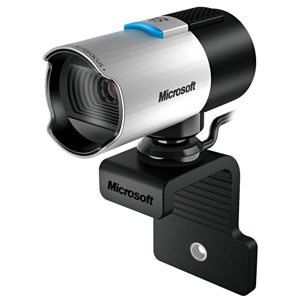 Webcam Microsoft LifeCam Studio, USB 2.0, Preta/Prata - Q2F-00013