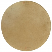Pele Couro Animal (Cabra) Sem Aro 30 cm Luen para vários instrumentos de percussão.