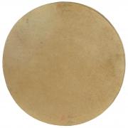 Pele Couro Animal (Cabra) Sem Aro 40 cm Luen para vários instrumentos de percussão.