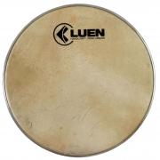 Pele de Couro Animal (Cabra) 08 polegadas da LUEN para instrumento de percussão.