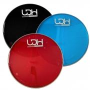 "Pele Hidráulica Duo Lub Clear Luen Drumheads LDH 10"" para Bateria."