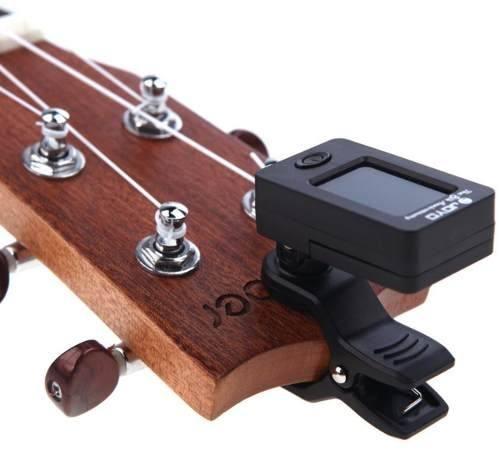 Afinador Digital Clip P/ Violão Baixo Guitarra Violino Ukulele  - ROOSTERMUSIC