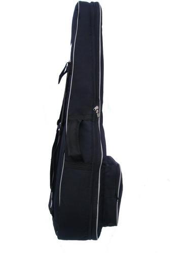 Capa Bag Para Violão Clássico Semi Case Gold CLAVE & BAG. Totalmente acolchoada, alça de mão e de mochila. EX 502  - ROOSTERMUSIC