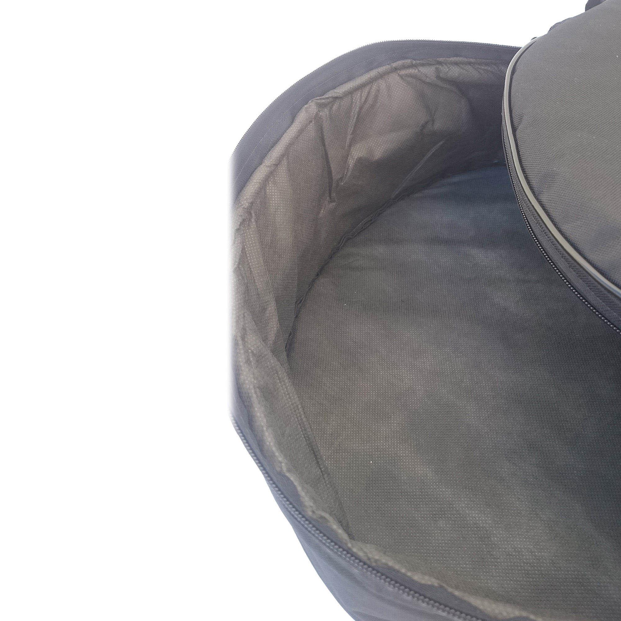 "CAPA BAG DE 08"" x 12 cm PARA CAIXA DE BATERIA DA CLAVE & BAG. TOTALMENTE ACOLCHOADA- SUPER LUXO"