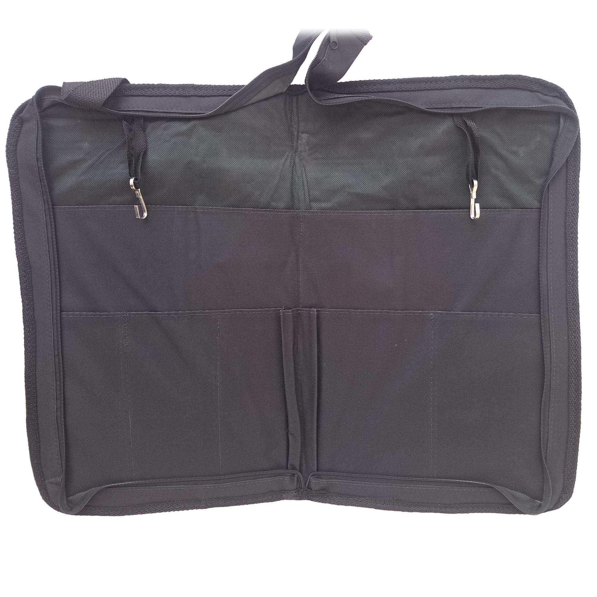 Capa Bag luxo LC Para Baquetas. Grande, cabe muitas baquetas. Baqueteira profissional. CLAVE & BAG. LU 704  - ROOSTERMUSIC