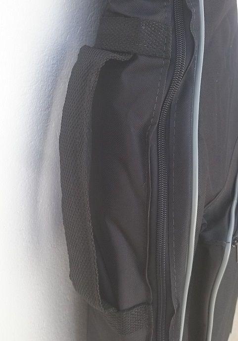 Capa Bag Para Violão Folk Semi Case Gold CLAVE & BAG. Totalmente acolchoada, alça de mão e de mochila. EX 503  - ROOSTERMUSIC