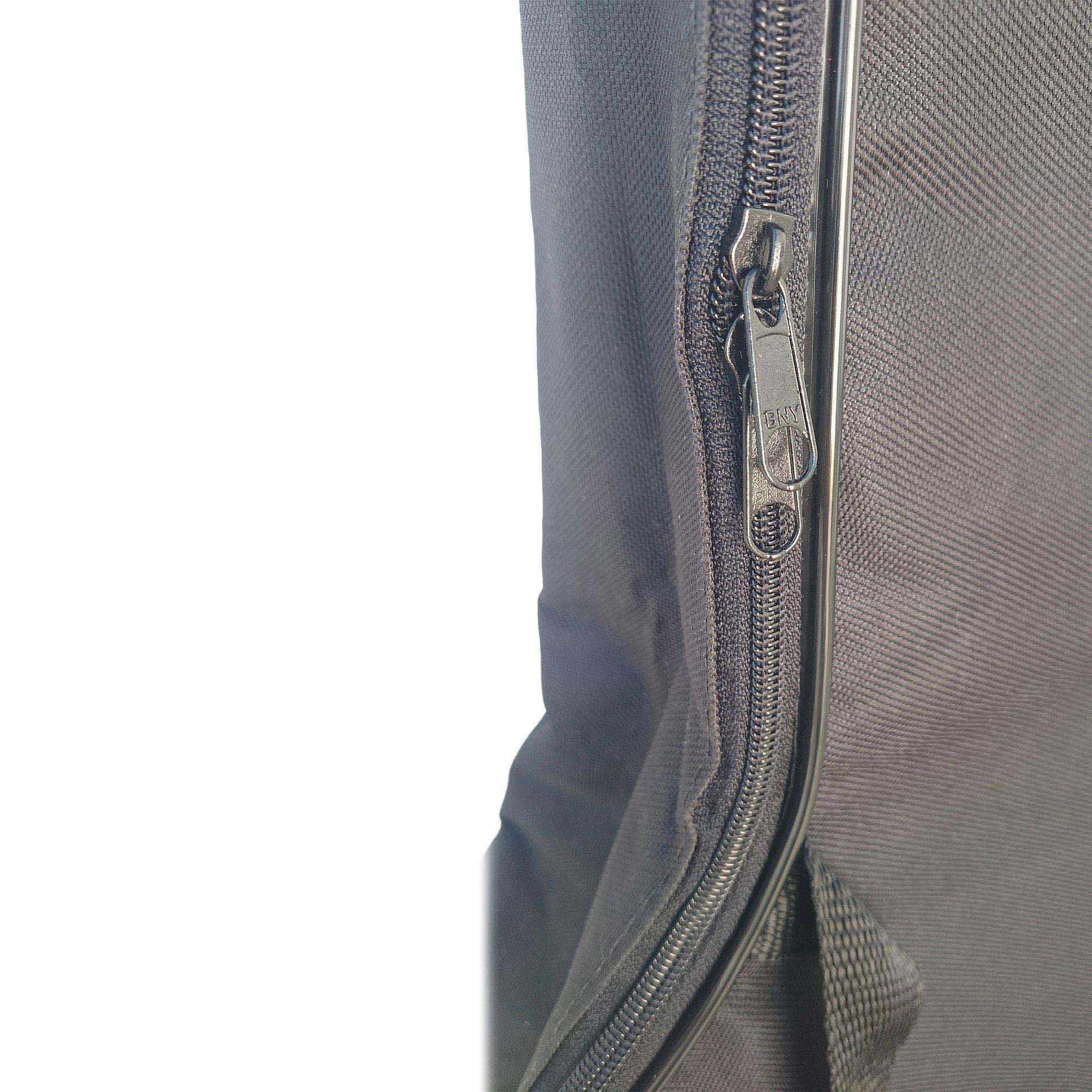 Capa Bag Para Violão Folk Luxo CLAVE & BAG. Acolchoada, alça de mão e de mochila. LU 503  - ROOSTERMUSIC