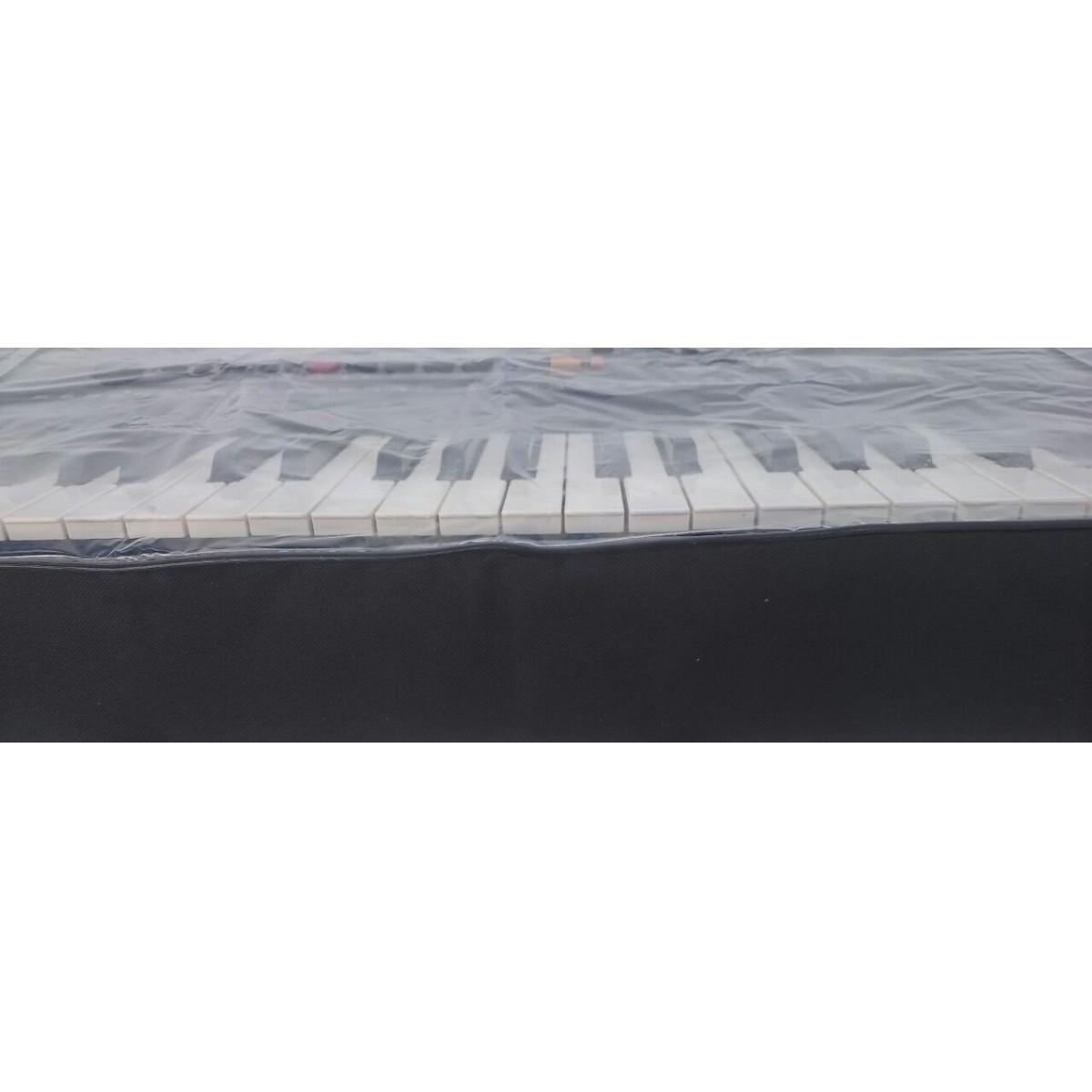 Capa expositora de Teclados 5/8 Yamaha PSR S670, S910 MOTIF XS6, Roland e Outros (100 x 40 x 15 cm) CM 801