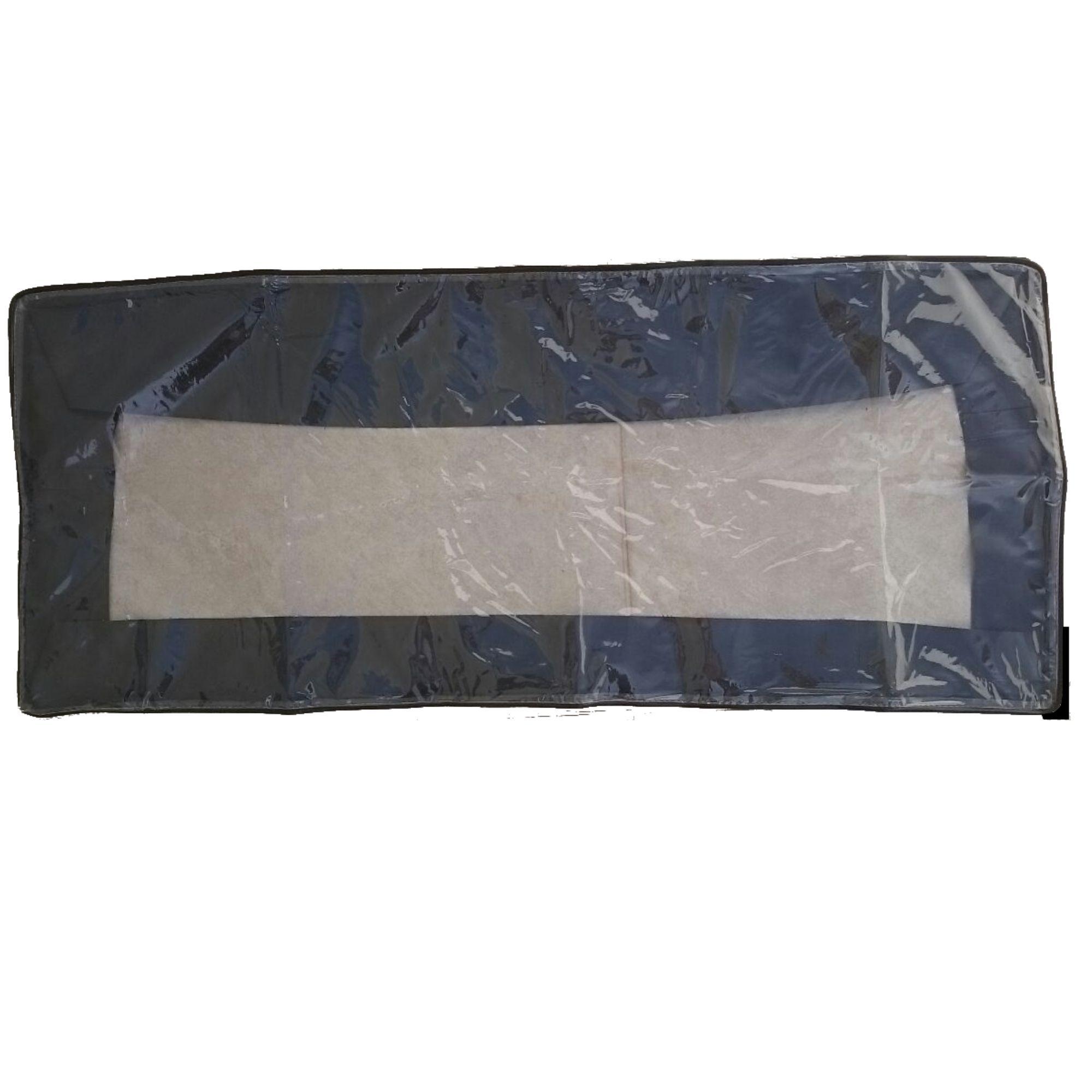 Capa Expositora Cristal para Teclados XPS 10, UMX 610 e outros. Proteção contra poeira (101 x 23 x 10 cm)