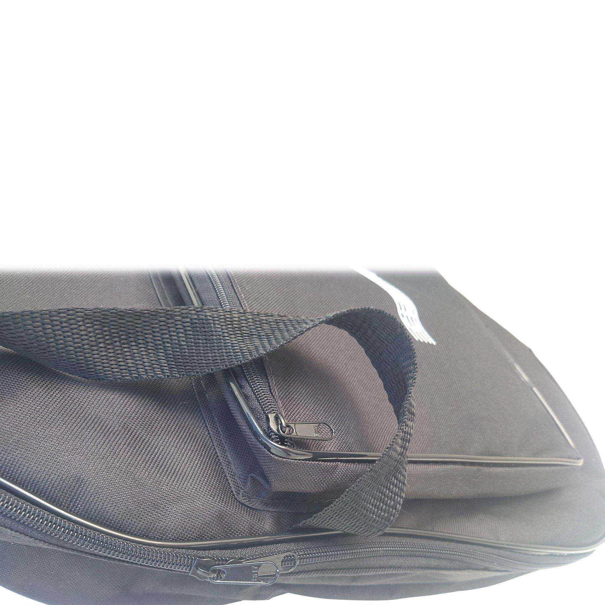 Capa para Violão 12 Cordas Luxo CLAVE & BAG. Acolchoada, alça de mão e de mochila. LU 505