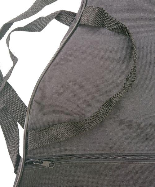 Capa Para Violão Folk Comum CLAVE & BAG. No formato do violão. Bolso, Alça de mão e tira-colo. CM503  - ROOSTERMUSIC
