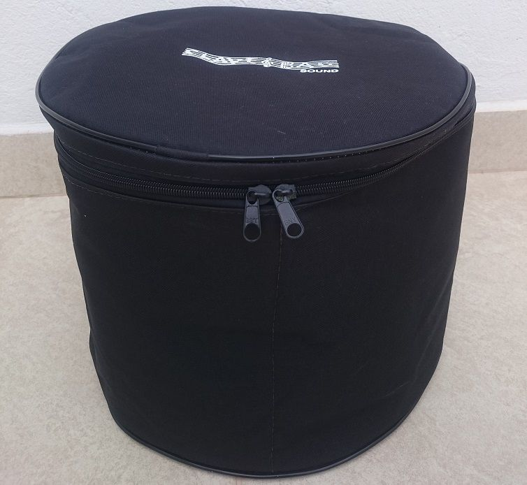 kit bag extra luxo para Surdo 16 e Bumbo 22 clave bag