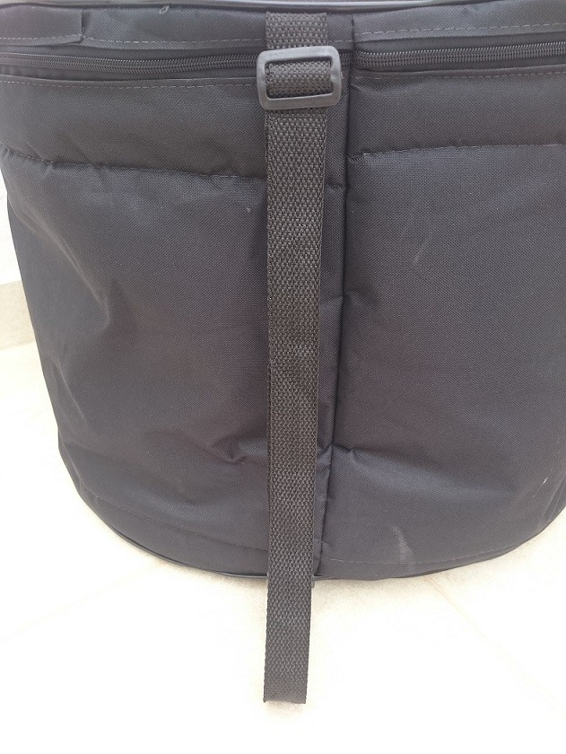 Kit Bag's Extra-Luxo para Bateria com 5 Pçs (T8T10T12C14S16)