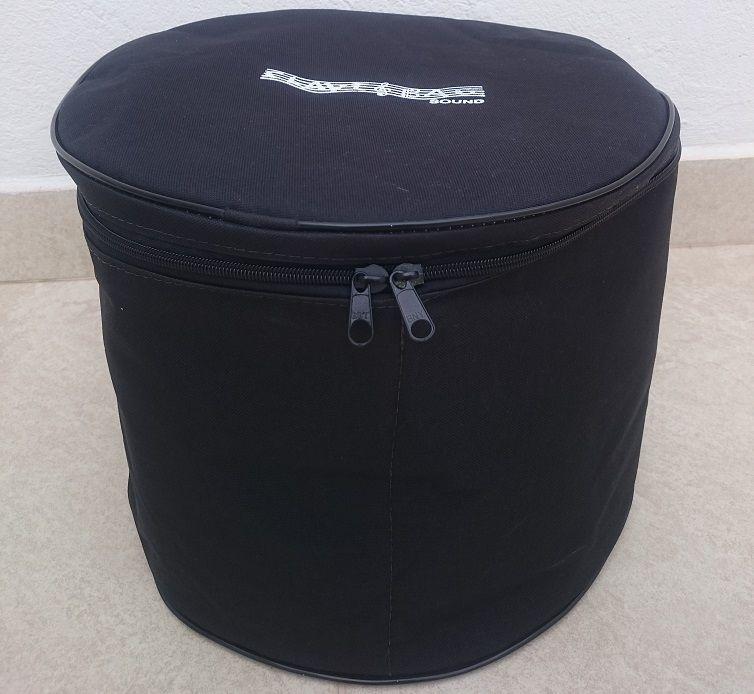 """kit bag tom 10"""" + bag de pratos com 3 divisórias extra luxo."""