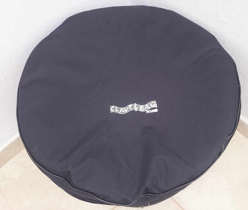 Kit capa bag extra luxo para bateria Tom 10 e Bumbo 22