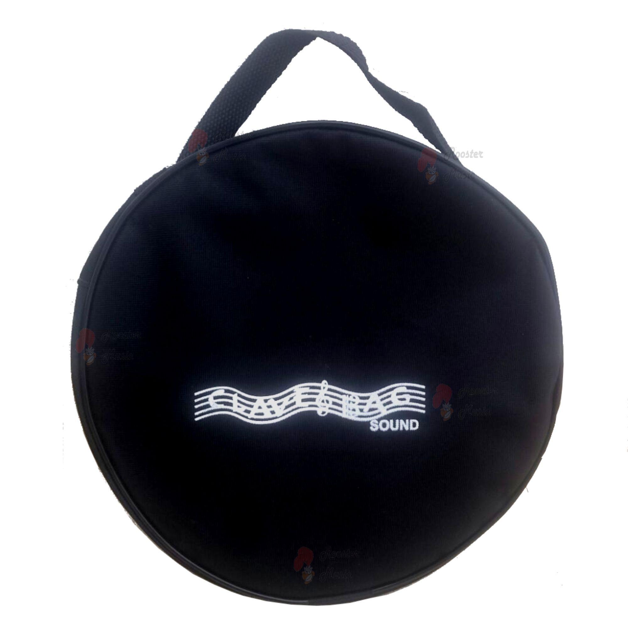 """kit com 10 capas para pandeiros de 10"""" comum CLAVE & BAG"""