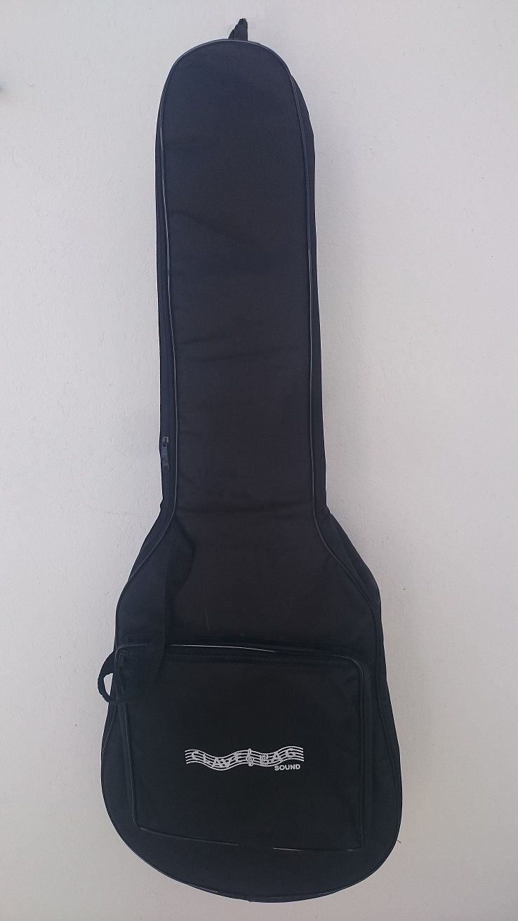kit com 3 capas de violão clássico s/b comum e 1 capa de violão luxo  - ROOSTERMUSIC