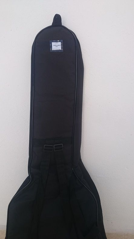 kit com 3 capas de violão clássico s/b comum e 1 capa de violão luxo