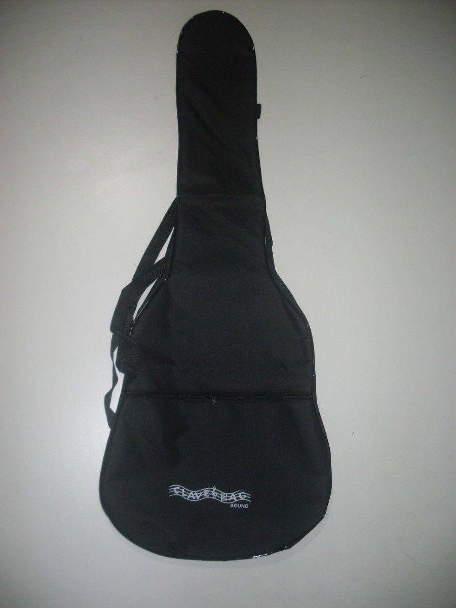kit com 5 capas para violão folk comum  - ROOSTERMUSIC
