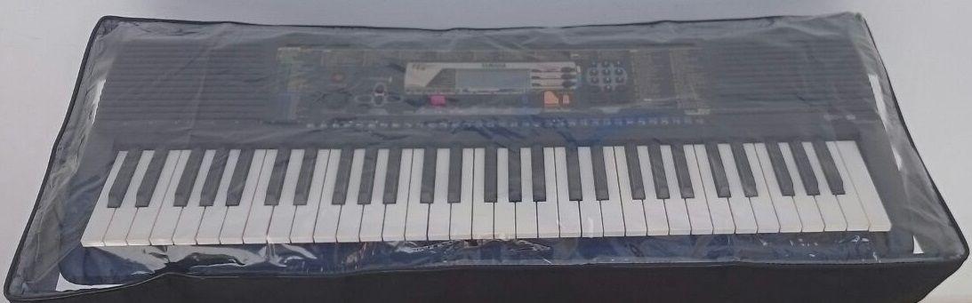 kit com Semi-case premium  + capa expositora cristal para teclado XPS-10