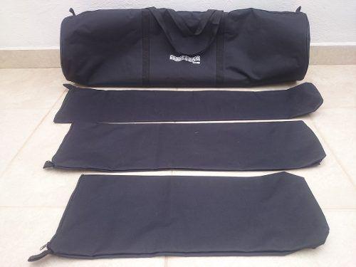 Kit de Bag's Extra-Luxo para Bateria com 4 Pçs (T10T12C14x12PF)