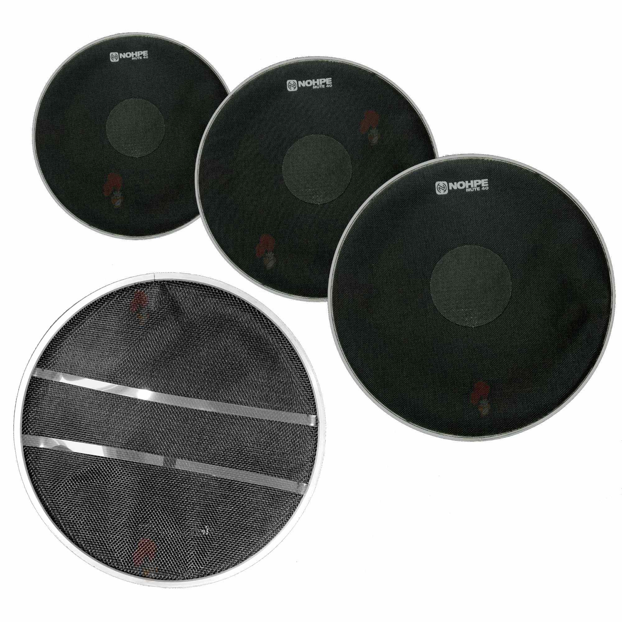 """KIT FUSION - PELES NOHPE MUTE 40 (10"""", 12"""", 14"""") + MUTE 40 (SYSTEM WIRE 14"""")."""