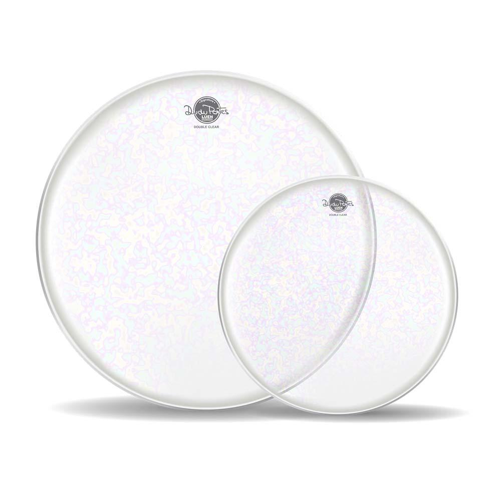 kit pele double clear dudu ports luen com 14 e 16 polegadas  - ROOSTERMUSIC
