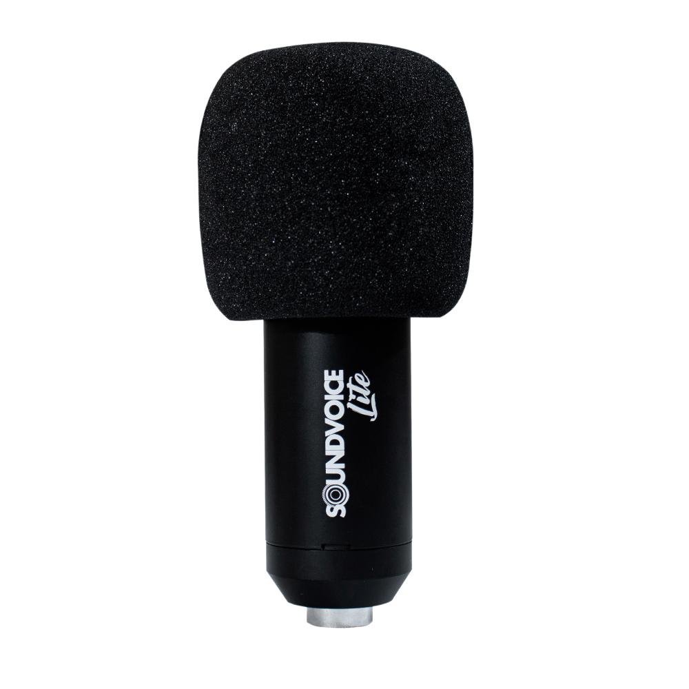 MICROFONE CONDENSADOR PROFISSIONAL SOUNDCASTING 800 DA SOUNDVOICE LITE
