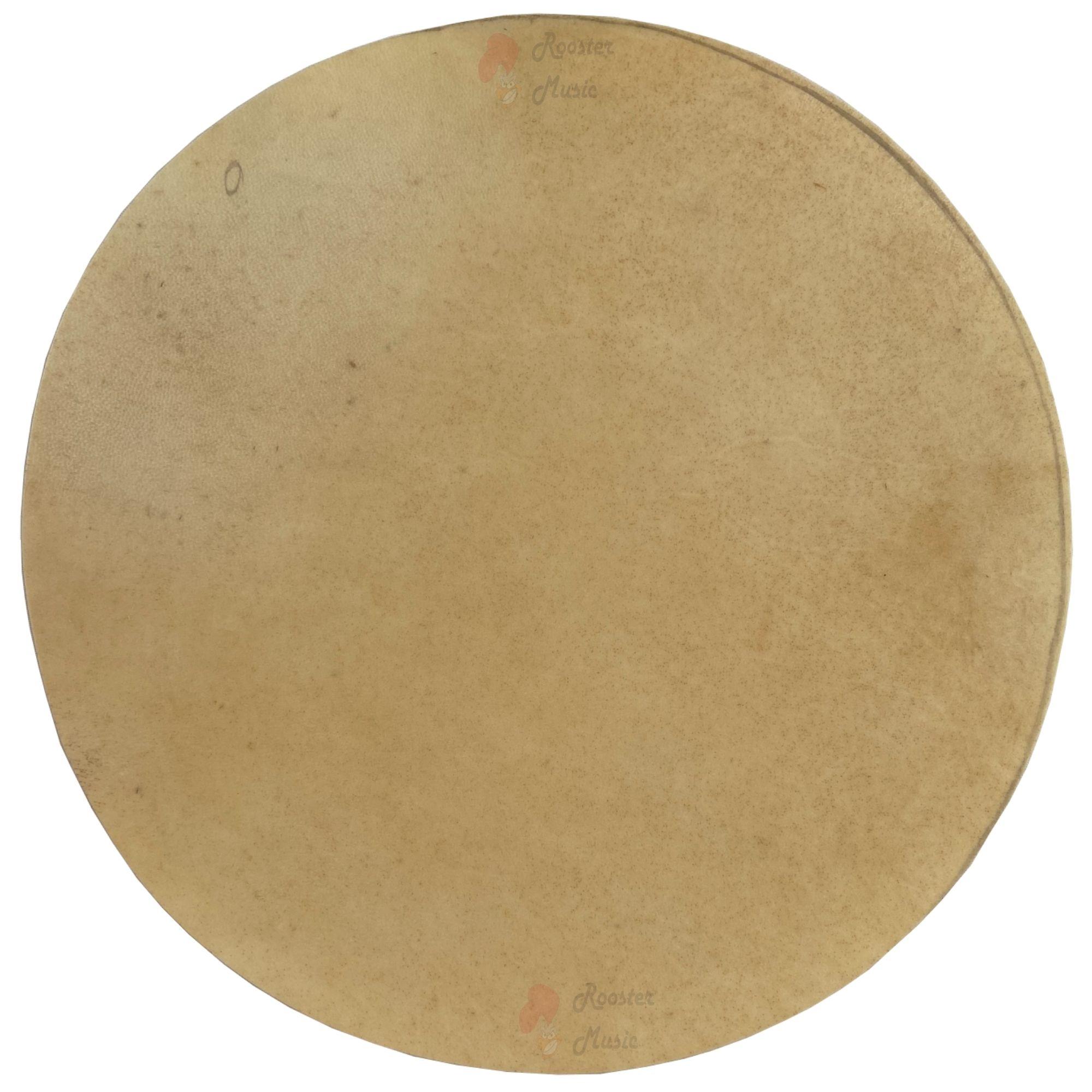 Pele Couro Animal (Cabra) Sem Aro 35 cm Luen para vários instrumentos de percussão.