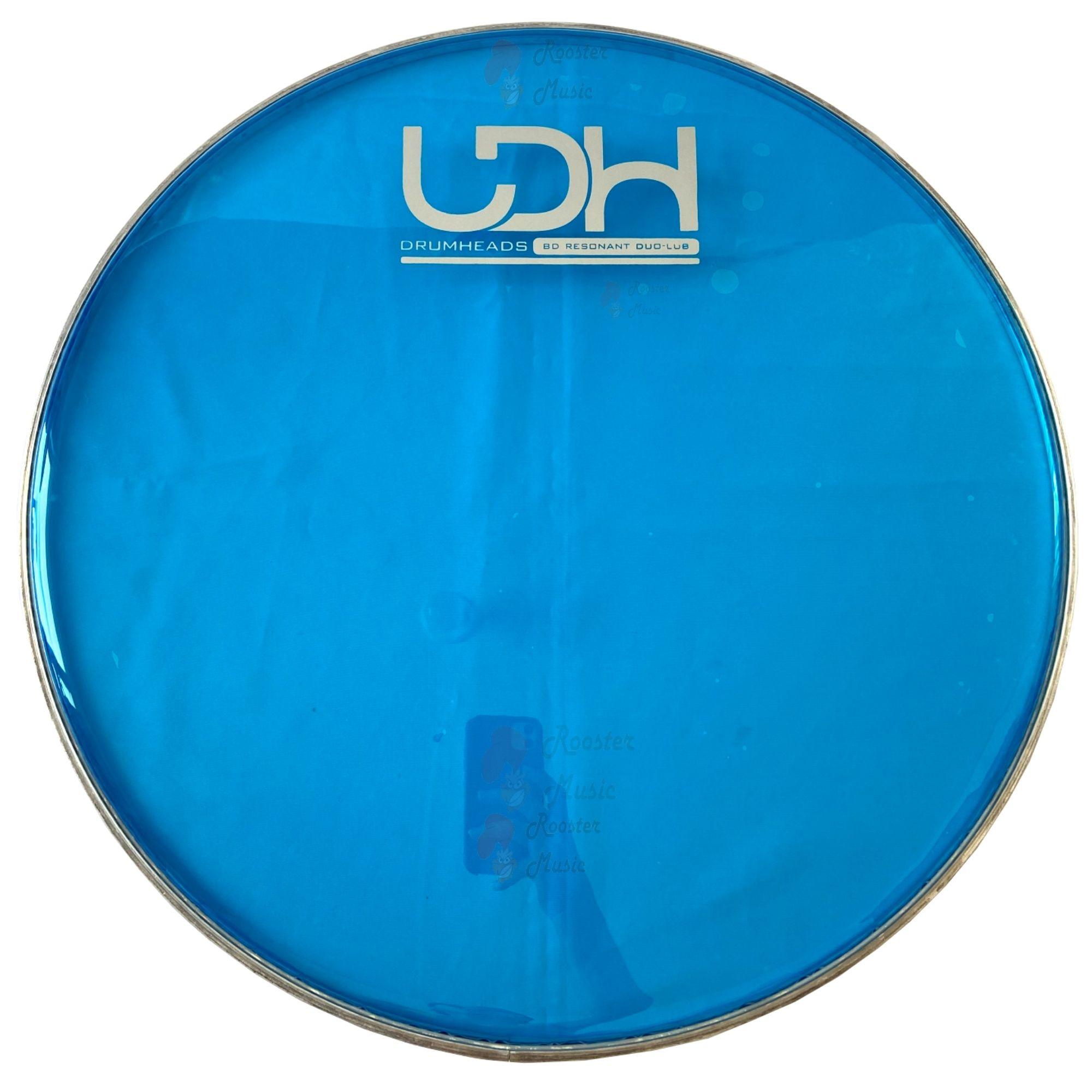 "Pele Hidráulica Duo Lub Clear Luen Drumheads LDH 12"" para Bateria."