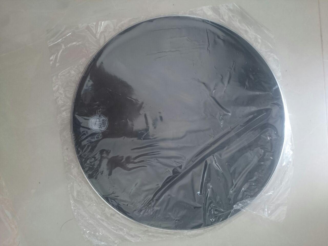 Pele Muda De Bumbo Bateria 20 Silent Dudu Portes Com Protetor, perfeita para estudo sem barulho alto  - ROOSTERMUSIC