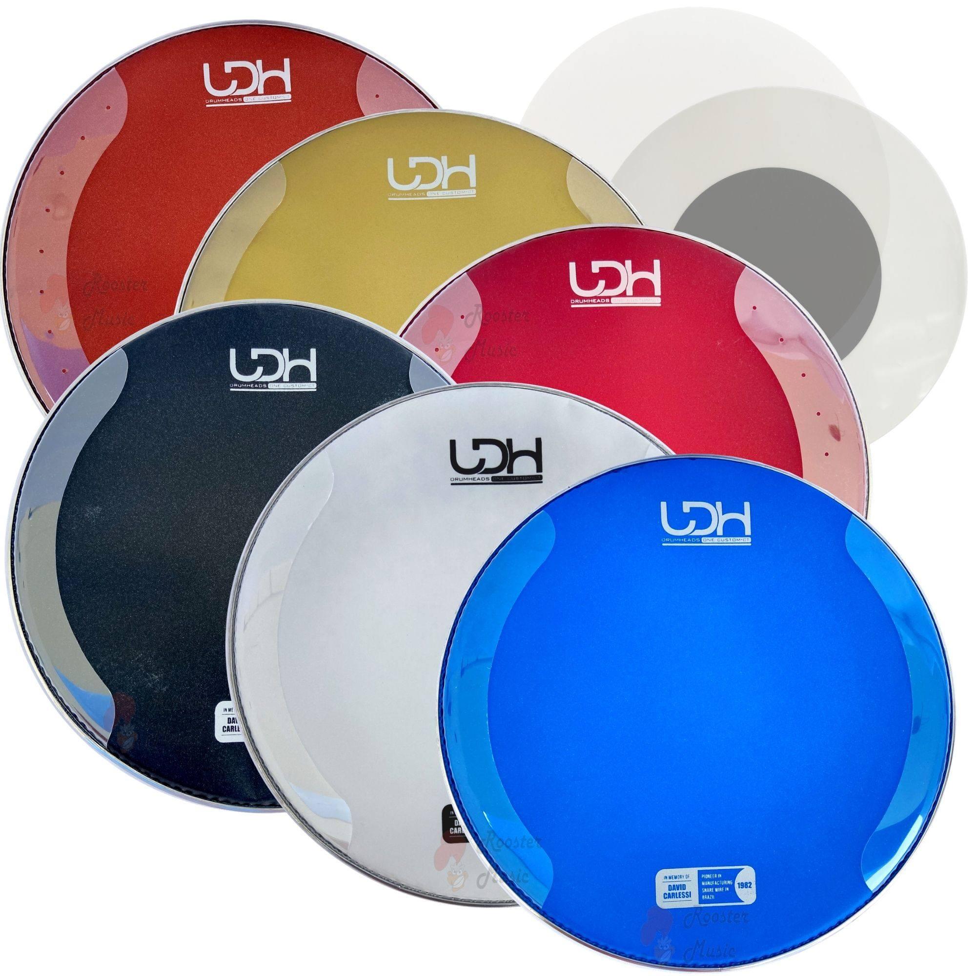 "Pele One Custom Coated CT Luen Drumheads LDH 14"" para Caixa de Bateria."
