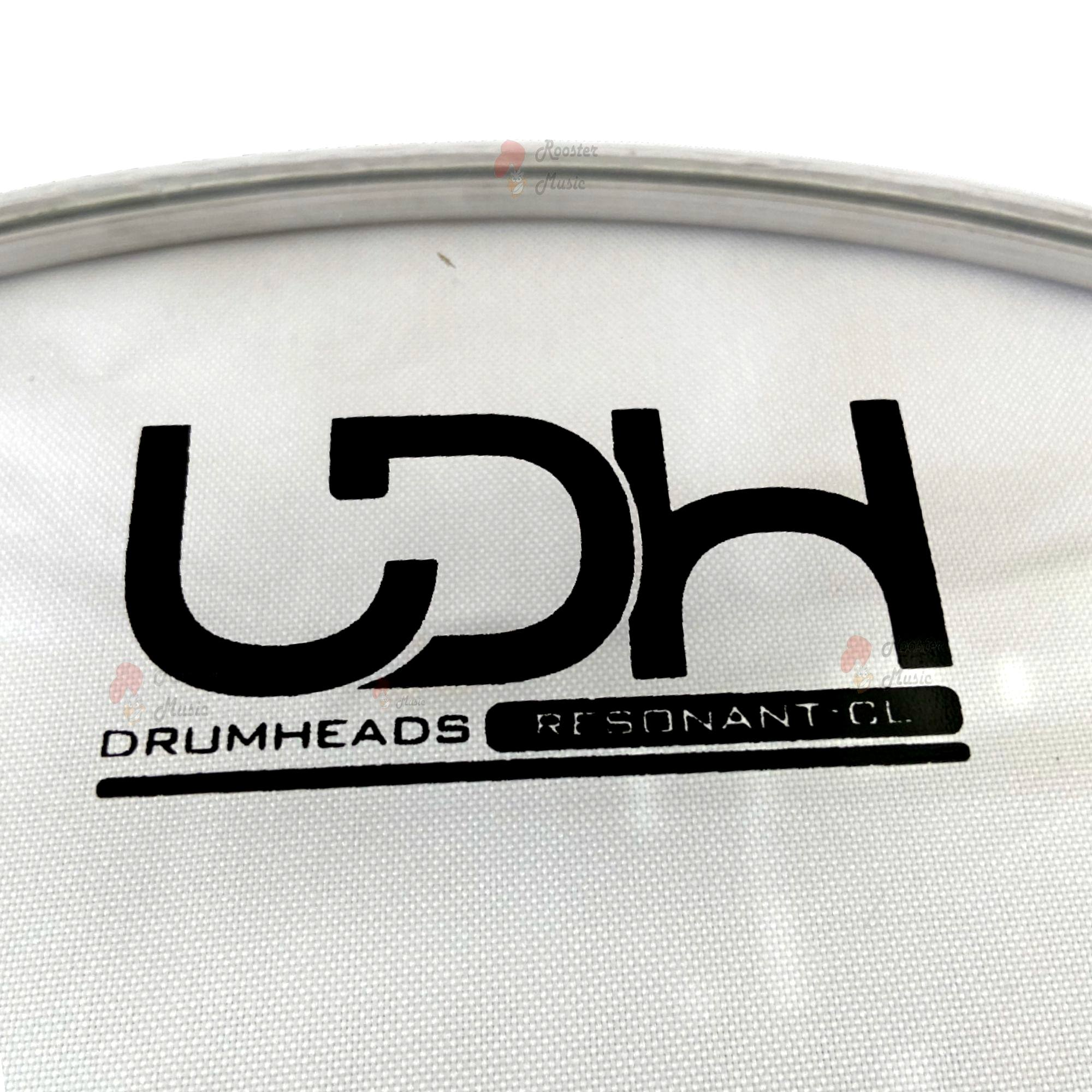 """Pele Resonant Clear CL Luen Drumheads LDH de 14"""", Resposta para Tom."""