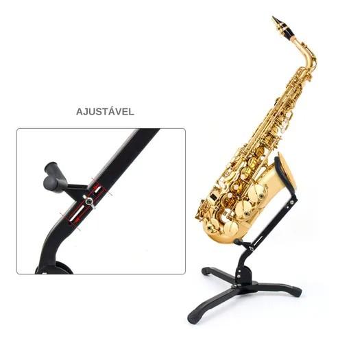 Suporte para Saxofone SM-SS10, Smart.