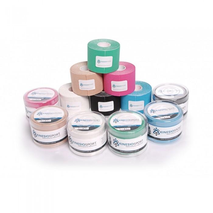 Bandagem Elástica Adesiva Verde Kinesiosport 5cmx5mts  - Shopping Prosaúde