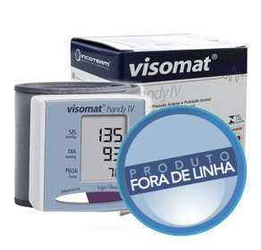Aparelho de Pressão Digital de Pulso Automático Visomat Handy IV - INCOTERM  - Shopping Prosaúde