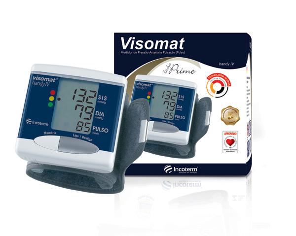 Aparelho de Pressão Digital de Pulso Automático Visomat Prime 29936 - INCOTERM  - Shopping Prosaúde