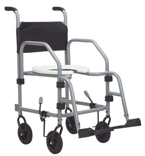 Cadeira de Rodas Alumínio Banho 40 cm - BAXMANN E JAGUARIBE  - Shopping Prosaúde