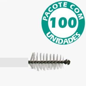 Escova Cervical não Estéril Descartável Pacote com 100 - KOLPLAST  - Shopping Prosaúde