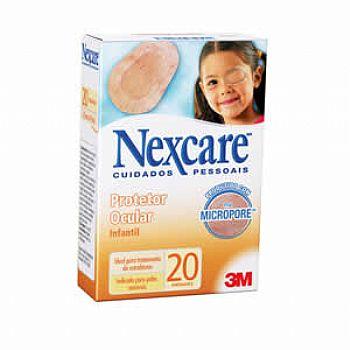 Protetor Ocular Infantil Opticlude com ( Cx c/ 20 unds.) Nexcare 1539 - 3M  - SP