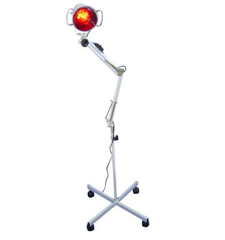 Luminária (Foco) com Lâmpada de Infravermelho - 1 Braço - Estek