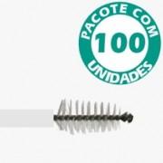 Escova Cervical não Estéril Descartável Pacote com 100 - KOLPLAST