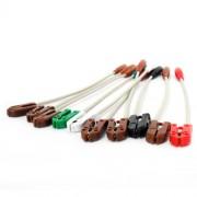 Adaptador para eletrodos descartáveis 10un para ECG  Cardiocare / Cardiotouch - Bionet - Macrosul