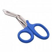 Tesoura para Bandagem Romba/Romba 19cm Azul - MD